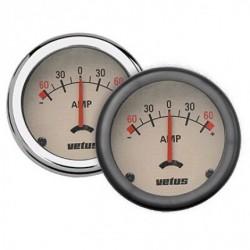 AMPW - Amperemesser beige 12/24 Volt