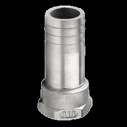 QA05FD-15 , Schlauchtülle G1/2\'-15mm Innengewinde,  Inox