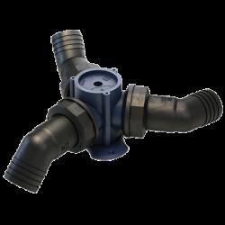 Y3C - Kunststoff 3-Wegventil, ohne Anschlüsse