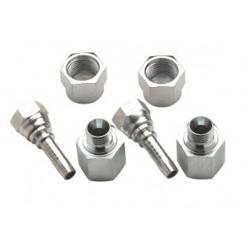 FFD1000 - Anschlüsse, Doppelverbinder 10mm, gerade, G1/2\'
