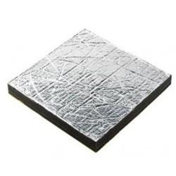 ST145A - Schalldämmung Sonitech Single, 45mm, Alu-Oberfläche, 600x1000mm