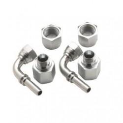 FFD1090 - Anschlüsse, Doppelverbinder 10mm, gebogen, G1/2\'