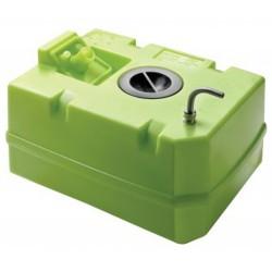 WTANK40C - Trinkwassertank 40 Liter inkl. Anschlüsse und Inspektionsdeckel