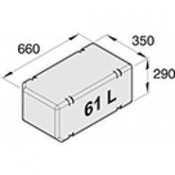 ATANK061 - All-Zweck Tank, 61l, exkl. Anschlusssatz