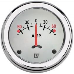 AMPWL - Amperemesser weiss, 12/24 Volt