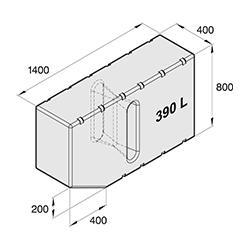 ATANK390 - All-Zweck Tank 390l, exkl. Anschlusssatz