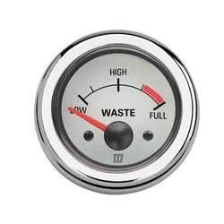 WASTW - Schmutzwasseranzeigegerät 12/24 V, weiss