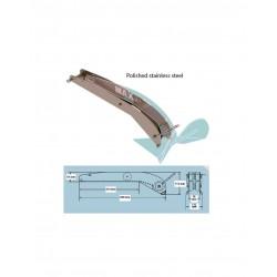 P105076 - Bugrolle Inox matt für MAXSET 10kg Anker